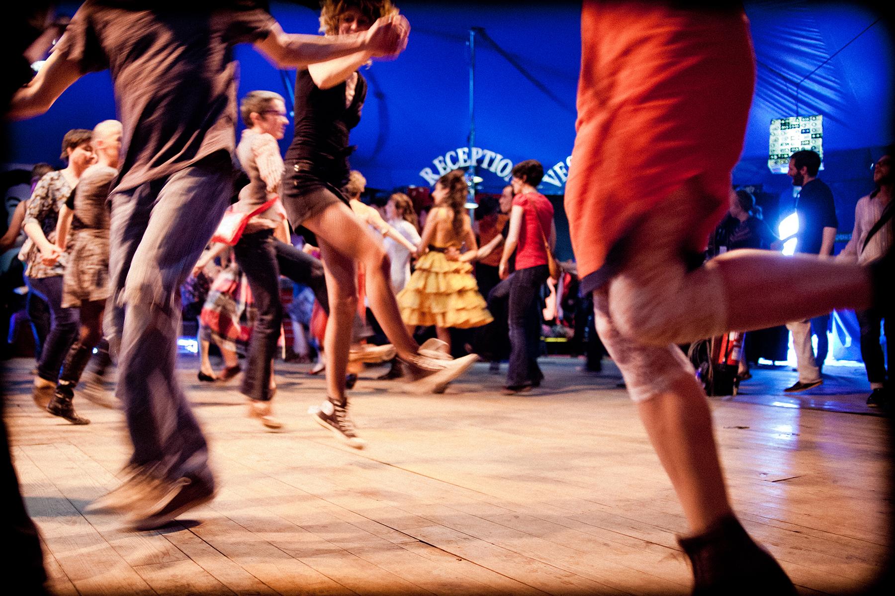 La piste à dansoire © Damien Bossis