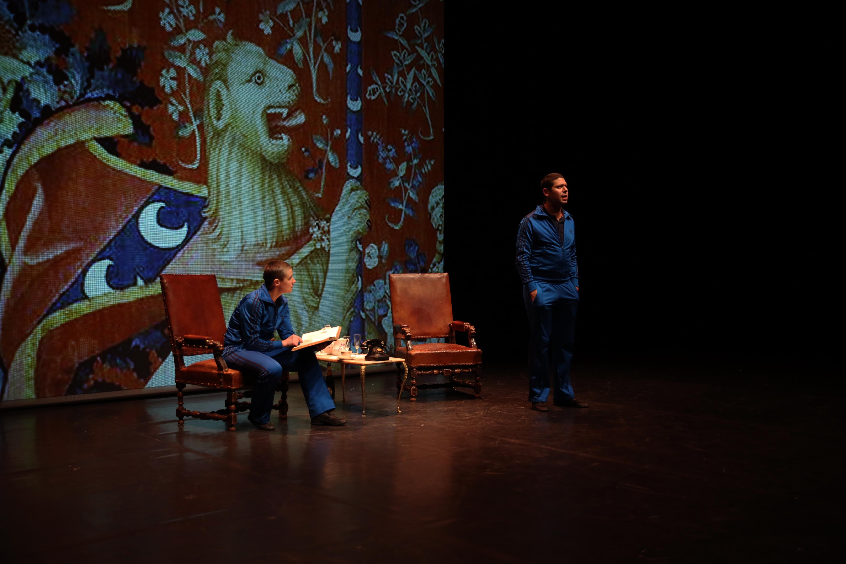 Les deux frères et les lions © Théâtre Irruptionnel