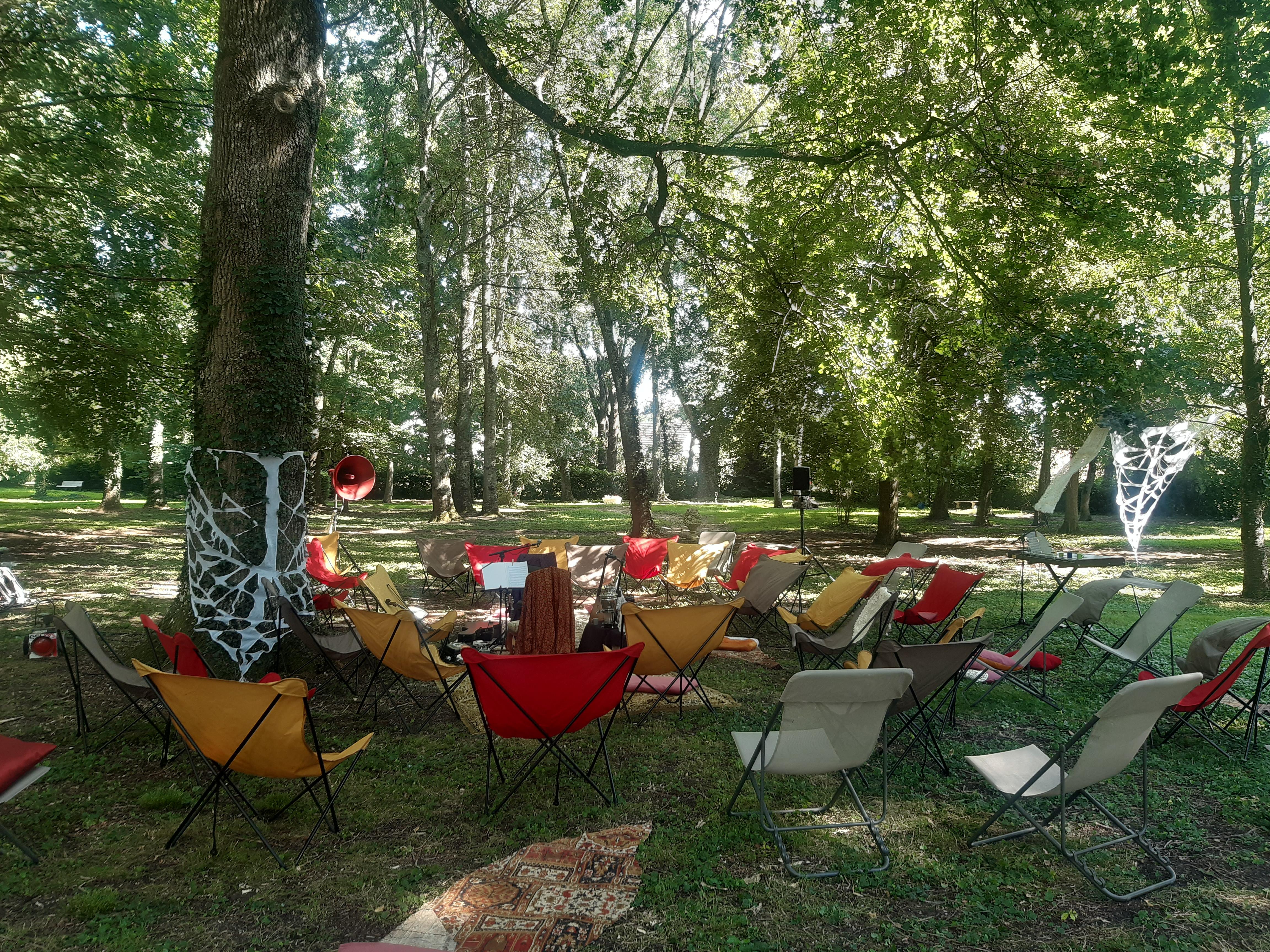 Parc du Château de la Favorite / Cour-Cheverny